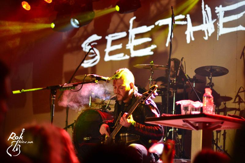 концерт Seether в Киеве