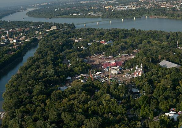 Sziget 2011 Panorama view