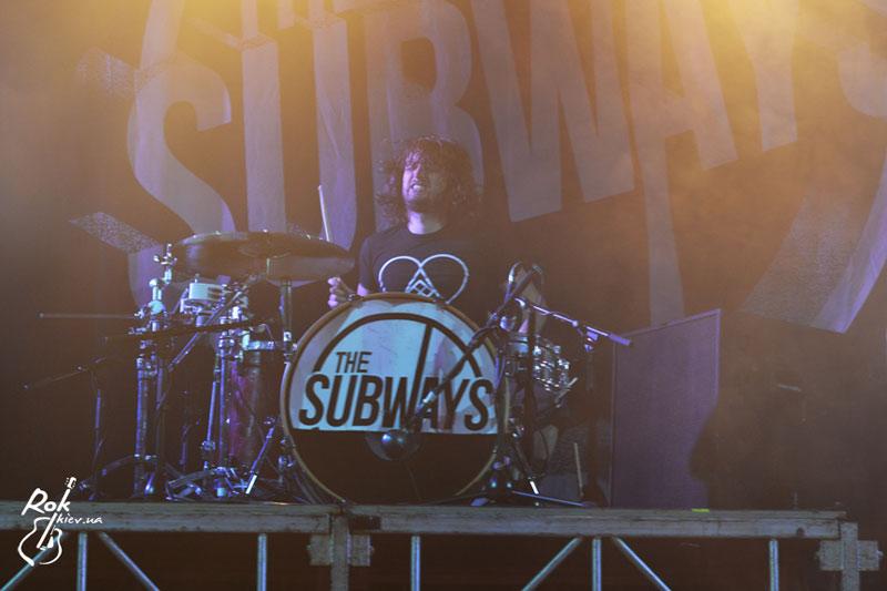концерт The Subways в Киеве