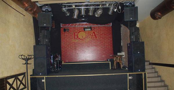 Бочка клуб в Киве на Хмельницкого