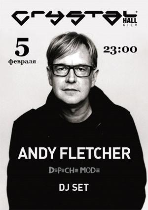 афиша ANDY FLETCHER
