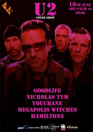 U2 Cover  Show