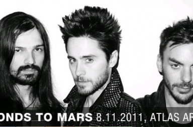 30 Seconds To Mars Atlas Arena in Lodz