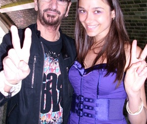 певица Vika с Ringo Starr