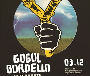 GOGOL BORDELLO afterparty