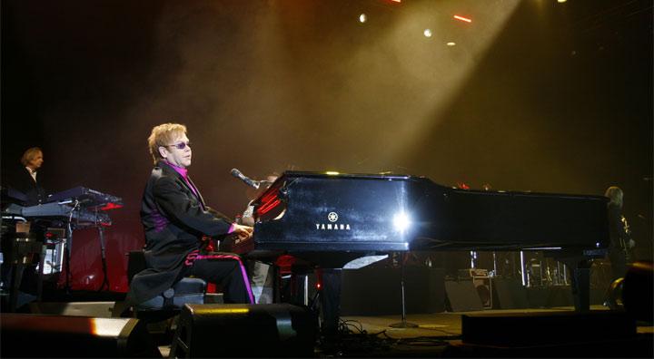 концерт Элтона Джона в Киеве