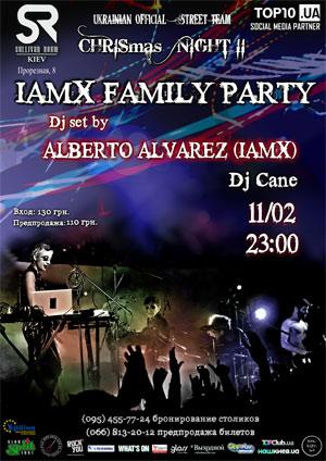 Dj set Alberto Alvarez IAMX в Киеве