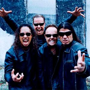 Metallica фото Anton Corbijn