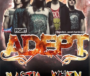 концерта: Adept (Швеция) в Киеве