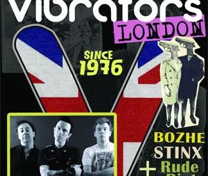 концерт The Vibrators в Киеве