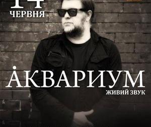 Концерт «Аквариум» в Киеве 14 Июня