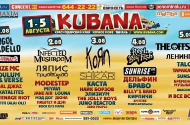 фестиваль КУБАНА 2012
