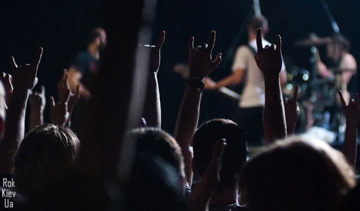 Концерт Guano Apes Киев