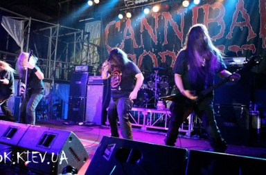 концерт Cannibal Corpse в Киеве