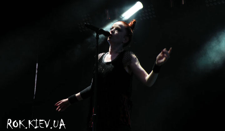 концерт Garbage в Варшаве