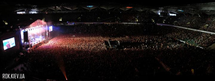 концерт Linkin Park в Варшаве