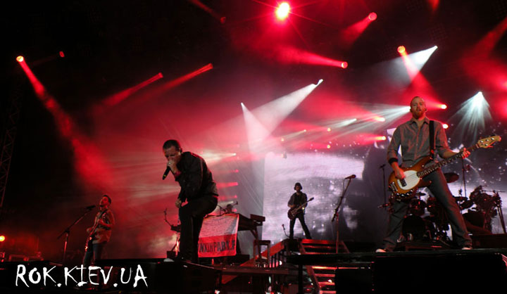 концерт Linkin Park Варашва Orange Warsaw Festival 2012