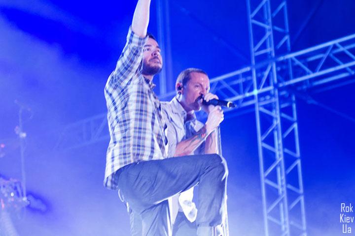 Linkin Park в Одессе на Просто Рок