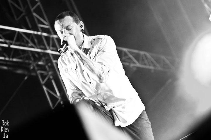 концерт Linkin Park в Одессе