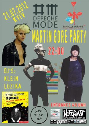 Martin Gore Party в Киеве