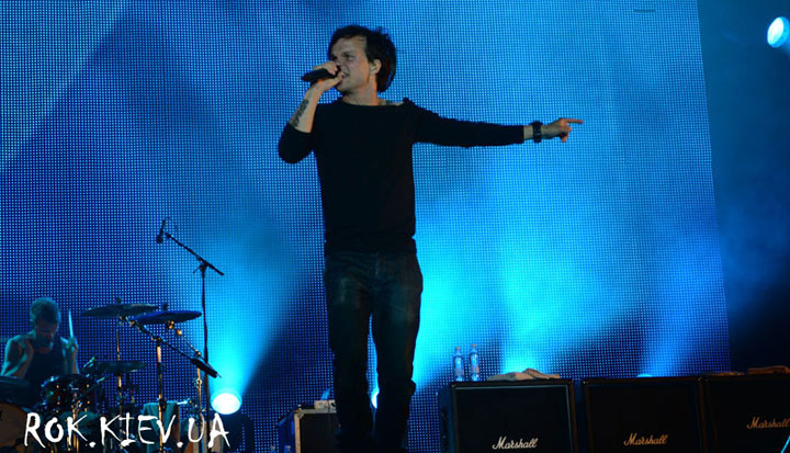 The Rasmus на фестивале The Best City