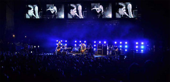 фото концерт Placebo в Киеве