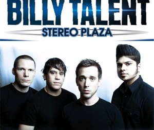 концерт Billy Talent в Киеве