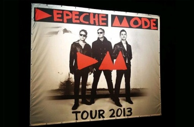 Depeche Mode тур 2013