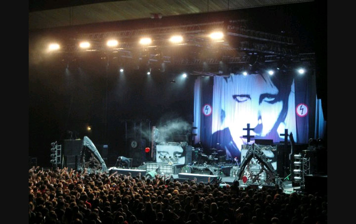 фото Marilyn Manson концерт в Киеве
