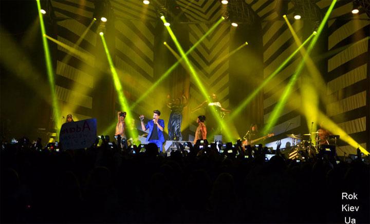 концерт Adam Lambert в Киеве