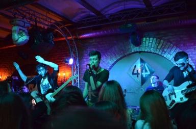 концерт Epolets в клубе 44
