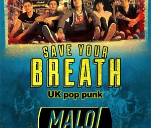концерт Save Your Breath в Киеве