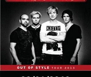 Sunrise Avenue концерт в Киеве
