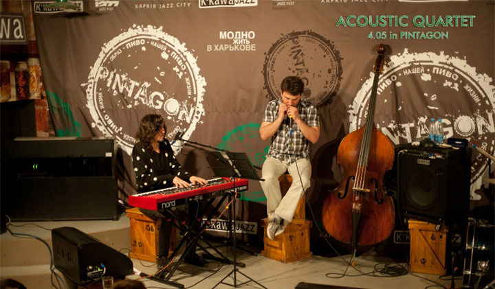 Acoustic Quartet в клубе Pintagon