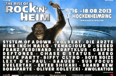 Фестиваль Rock n Heim 2013