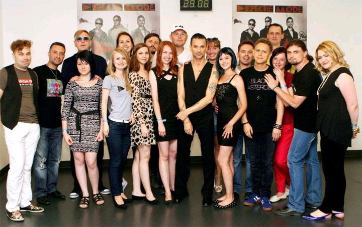 Depeche Mode встреча с фанами в Киеве