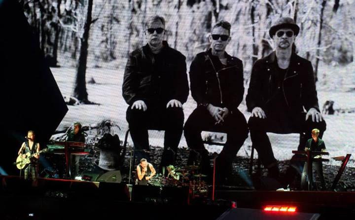 Depeche Mode концерт в Париже