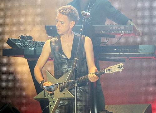 фото концерт Depeche Mode в Киеве