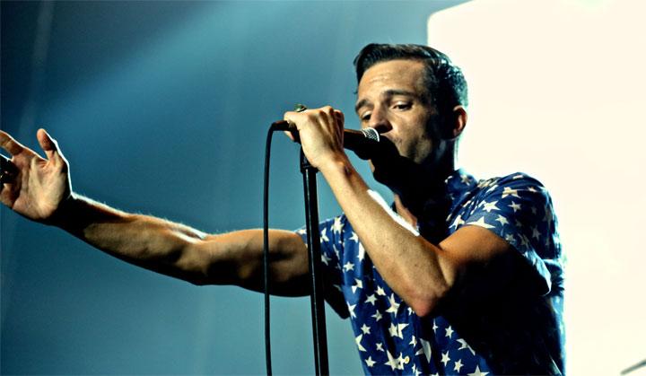 фото концерт The Killers в Киеве