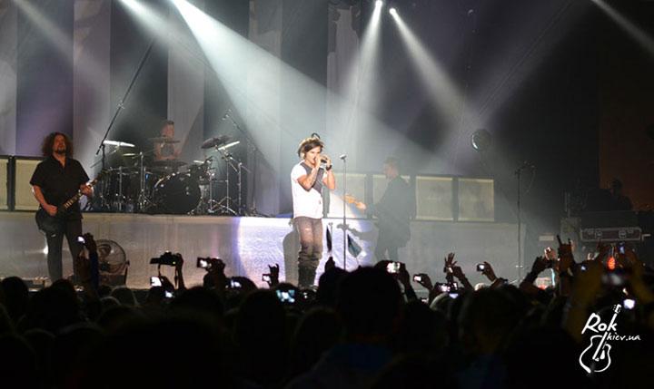 The Rasmus в Киеве фото