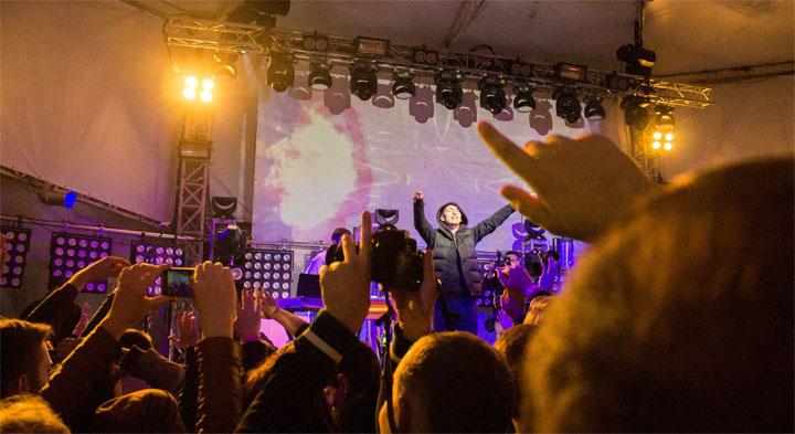 фото концерт Ассаи в Киеве