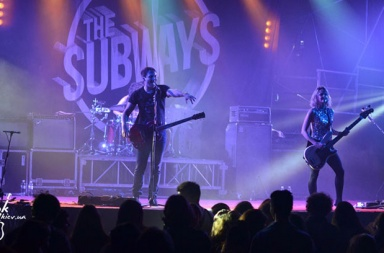 фото The Subways в Киеве