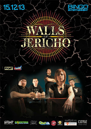Концерт Walls Of Jericho