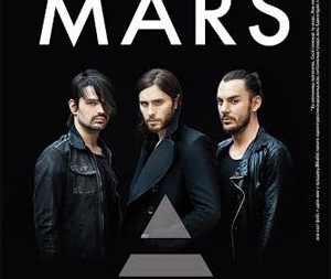 30 Seconds to Mars состоится во Дворце Спорта