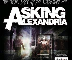 Концерт Asking Alexandria в Киеве