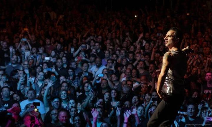 Выиграй встречу с группой Depeche Mode
