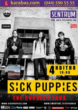 Sick Puppies впервые выступят в Украине