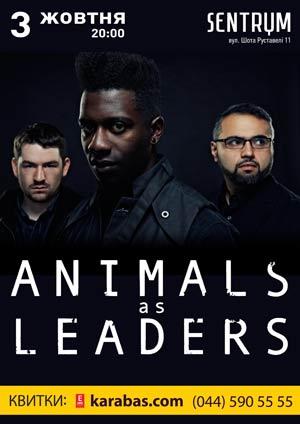 Animals As Leaders в Киеве