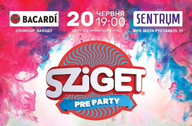 Sziget Pre Party