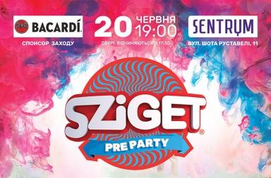 Sziget Pre Party